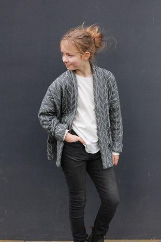 Produktfoto von Kid5 zum Nähen für Schnittmuster #103 Kimono Jacket Girls