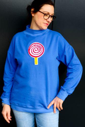 Produktfoto von Kid5 zum Nähen für Schnittmuster Turtleneck-Sweater Women