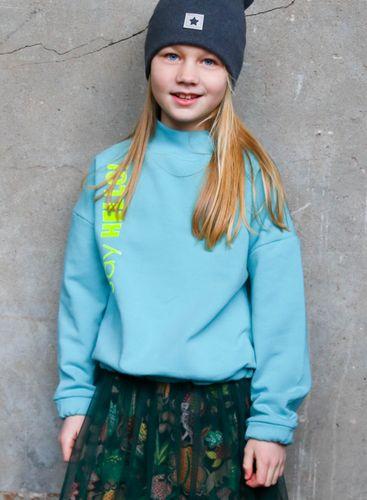 Produktfoto von Kid5 zum Nähen für Schnittmuster Turtleneck-Sweater Kids