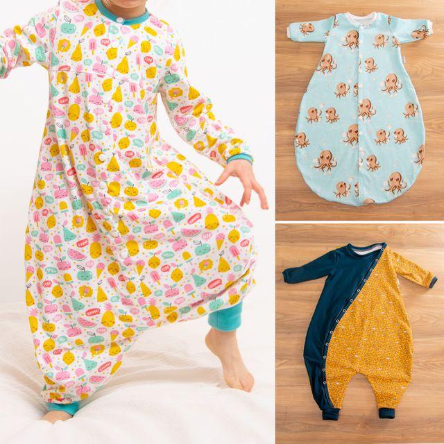 Produktfoto von Libminna zum Nähen für Schnittmuster Lib-Schlafsack