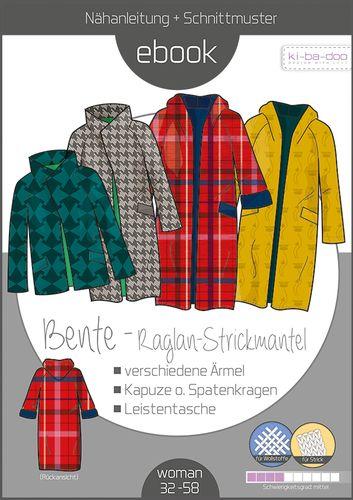 Produktfoto von ki-ba-doo zum Nähen für Schnittmuster Cardigan Bente