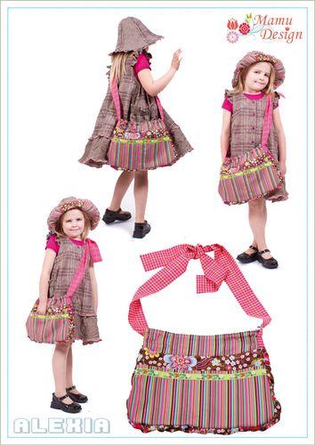 Produktfoto von Mamu Design zum Nähen für Schnittmuster Alexia