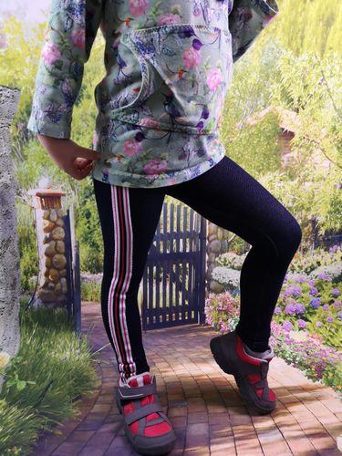 Produktfoto von SillySewing zum Nähen für Schnittmuster Leggings Reingehüpft