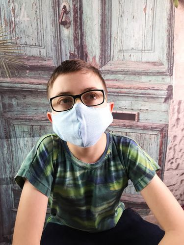 Produktfoto von SillySewing zum Nähen für Schnittmuster Behelfsmaske