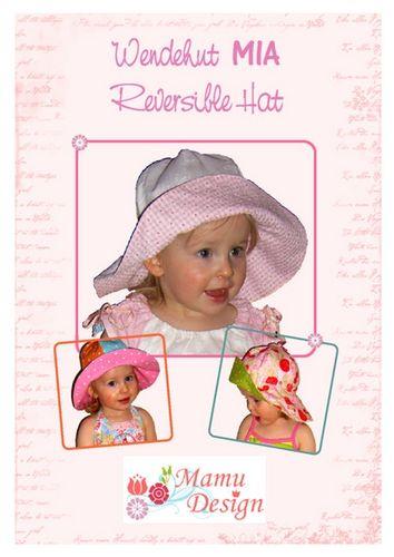 Produktfoto von Mamu Design zum Nähen für Schnittmuster Wendehut Mia