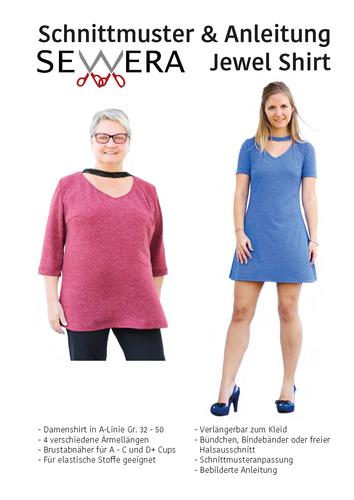 Produktfoto von sewera zum Nähen für Schnittmuster Jewel Shirt
