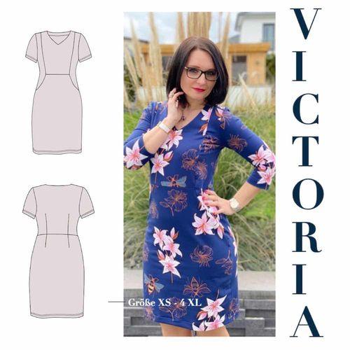 Produktfoto von Sara & Julez zum Nähen für Schnittmuster Figurwunderkleid Victoria