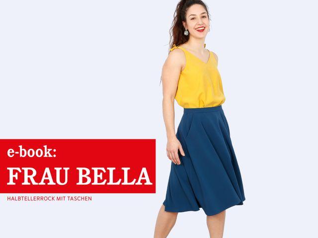 Produktfoto von STUDIO SCHNITTREIF zum Nähen für Schnittmuster Frau Bella