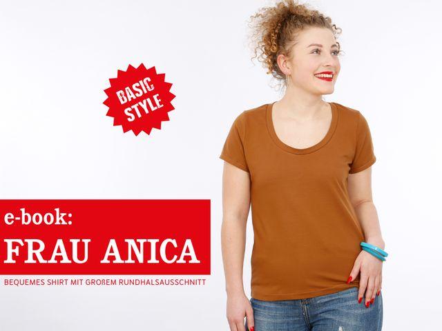 Produktfoto von STUDIO SCHNITTREIF zum Nähen für Schnittmuster Frau Anica