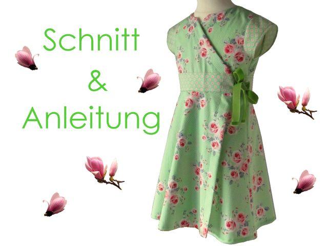 Produktfoto von Lunicum zum Nähen für Schnittmuster Wickelkleid