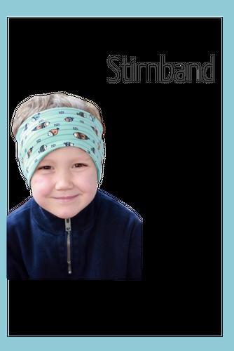 Produktfoto von Berlinerie zum Nähen für Schnittmuster Stirnband in fünf Varianten (Jersey)