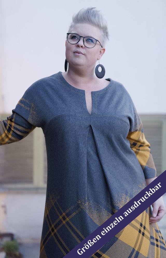 Produktfoto von Unendlich schön - Design Anita Lüchtefeld zum Nähen für Schnittmuster Kimonokleid Petunia
