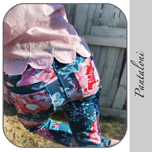 Produktfoto von gialLino zum Nähen für Schnittmuster Sweathose Pantaloni