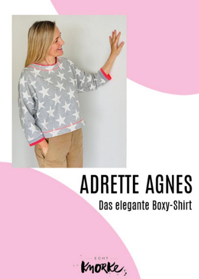 Produktfoto von echt Knorke zum Nähen für Schnittmuster Adrette Agnes