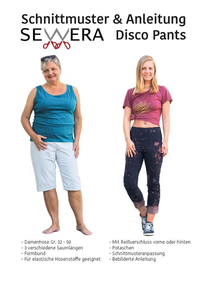 Produktfoto von sewera zum Nähen für Schnittmuster Disco Pants
