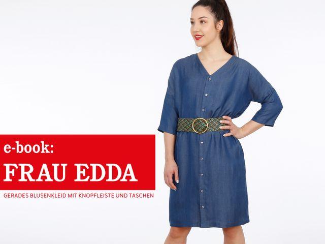 Produktfoto von STUDIO SCHNITTREIF zum Nähen für Schnittmuster Frau Edda