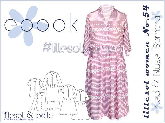 Produktfoto von Lillesol & Pelle zum Nähen für Schnittmuster Lillesol women No. 54 Kleid & Bluse Sombra