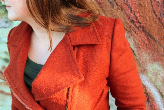 Produktfoto von einfach anziehend zum Nähen für Schnittmuster Jacke Roxy
