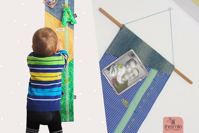Produktfoto von shesmile zum Nähen für Schnittmuster Messlatte aus Stoff RichardRiese