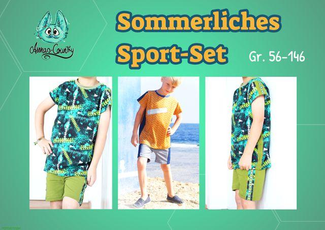 Produktfoto von Annas-Country zum Nähen für Schnittmuster Sportliches Sommer-Set