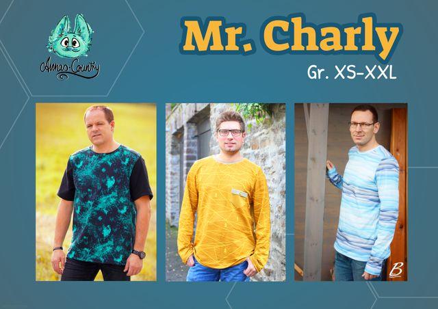 Produktfoto von Annas-Country zum Nähen für Schnittmuster Mr. Charly