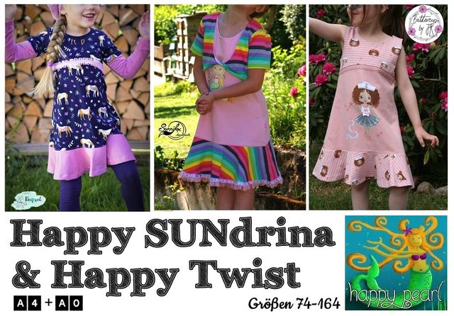 Produktfoto von Happy Pearl zum Nähen für Schnittmuster Happy SUNdrina