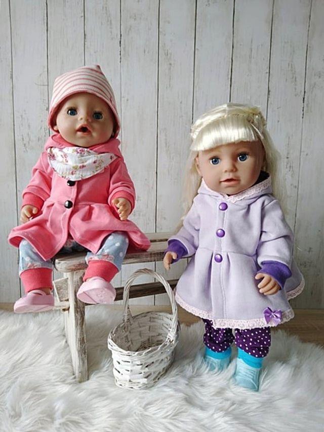 Produktfoto von Zwergnase-Design zum Nähen für Schnittmuster Dress up your Baby Doll Vol. 5