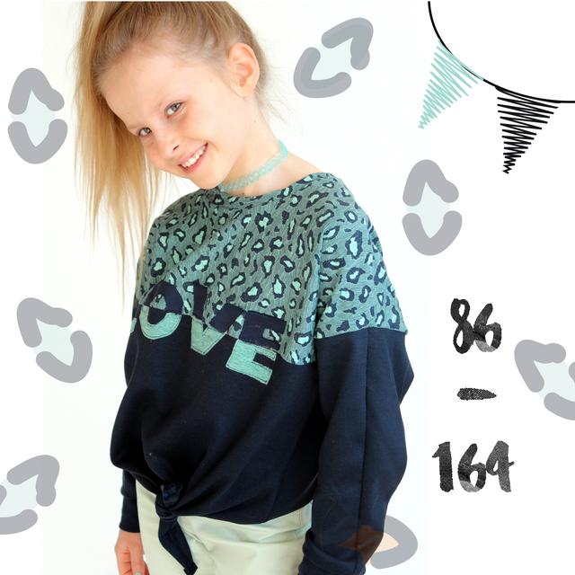 Produktfoto von Anni Nanni zum Nähen für Schnittmuster AnniNanni Knotenshirt