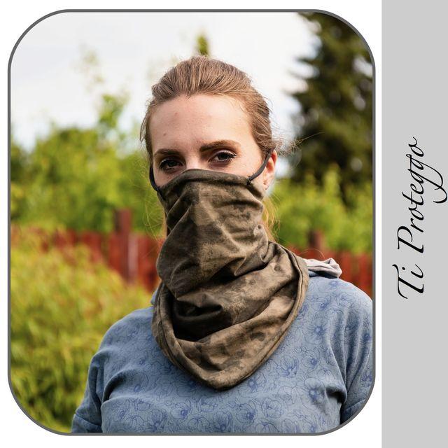 Produktfoto von gialLino zum Nähen für Schnittmuster Ti proteggo