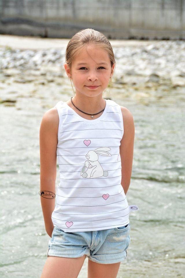 Produktfoto von Meine Herzenswelt zum Nähen für Schnittmuster Tanktop Kinder - Deine Lucy