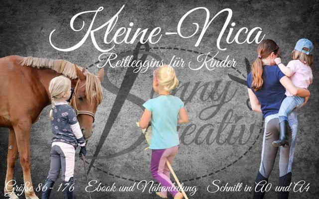 Produktfoto von Sanny Kreativ zum Nähen für Schnittmuster Reitleggings Kleine Nica