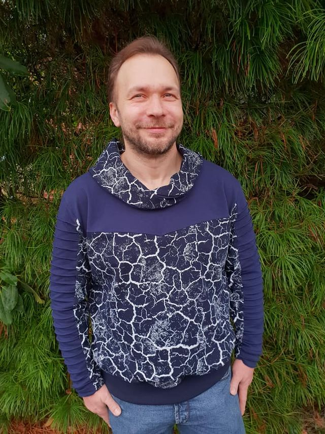 Produktfoto von Sanny Kreativ zum Nähen für Schnittmuster Sweatshirt Anselm