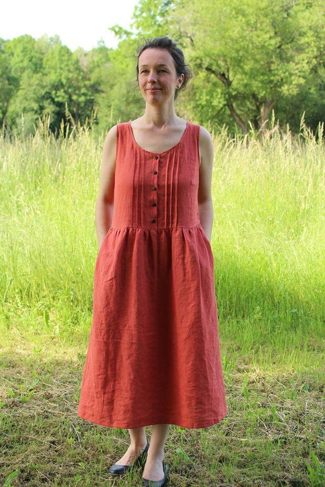 Produktfoto von Fabelwald zum Nähen für Schnittmuster Kleid ACACIA