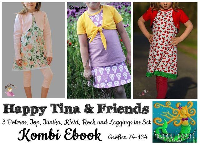 Produktfoto von Happy Pearl zum Nähen für Schnittmuster Happy Tina & Friends