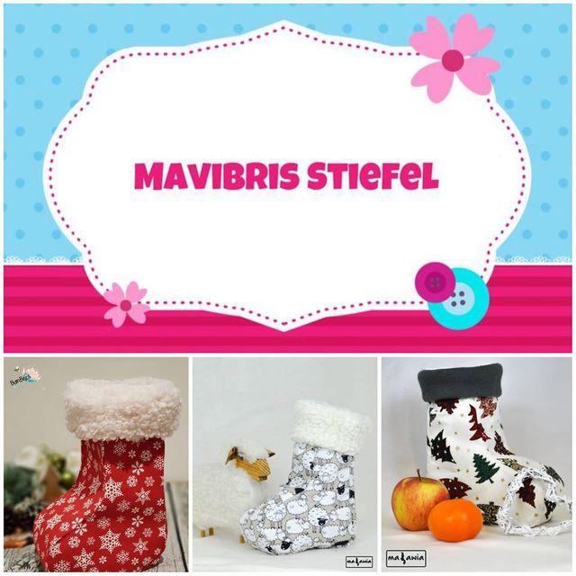 Produktfoto von Mavibri zum Nähen für Schnittmuster Mavibris Stiefel