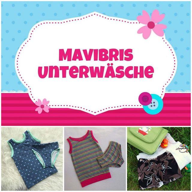 Produktfoto von Mavibri zum Nähen für Schnittmuster Mavibris Unterwäsche