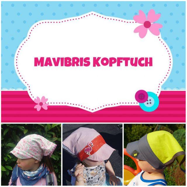Produktfoto von Mavibri zum Nähen für Schnittmuster Mavibris Kopftuch