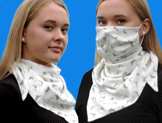 Produktfoto von Märzenbecher zum Nähen für Schnittmuster GesichtsTuch