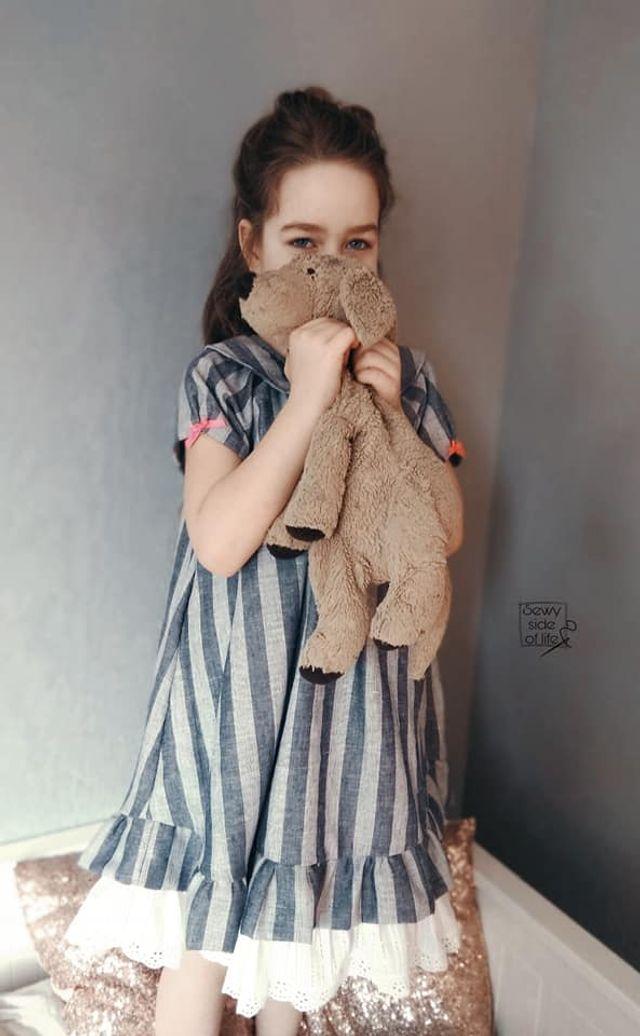 Produktfoto von Safilou zum Nähen für Schnittmuster Kleid Skrollan