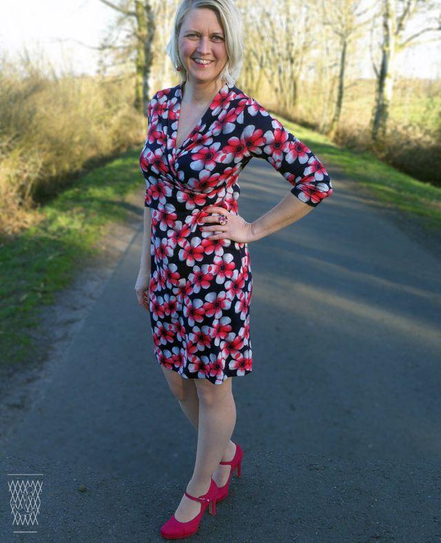 Produktfoto von Safilou zum Nähen für Schnittmuster Kleid Milla
