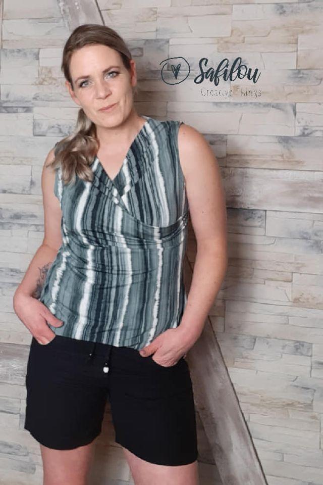 Produktfoto von Safilou zum Nähen für Schnittmuster Shirt Leni
