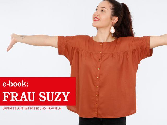 Produktfoto von STUDIO SCHNITTREIF zum Nähen für Schnittmuster Frau Suzy