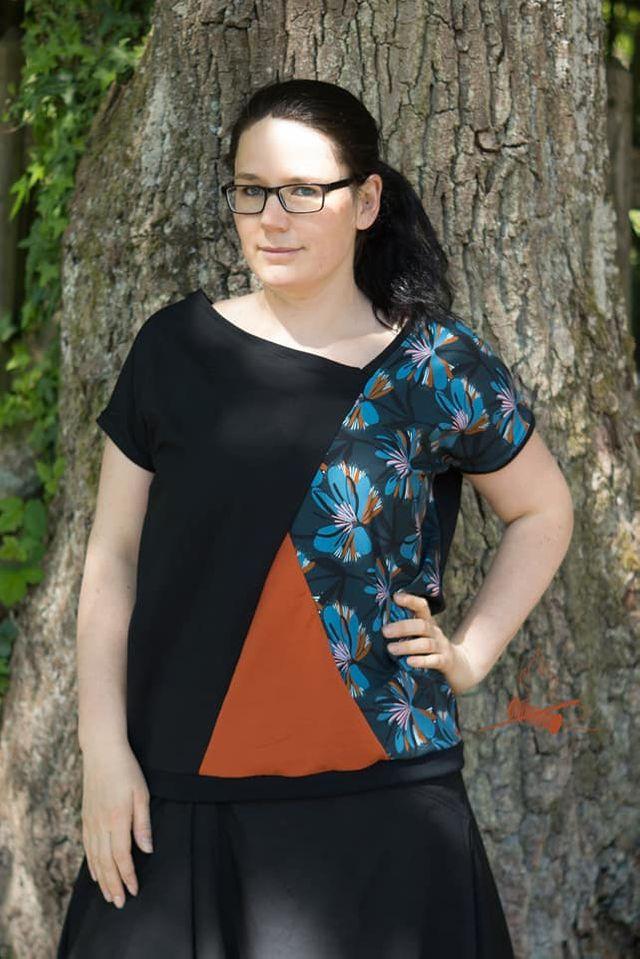 Produktfoto von Safilou zum Nähen für Schnittmuster Shirt Mali
