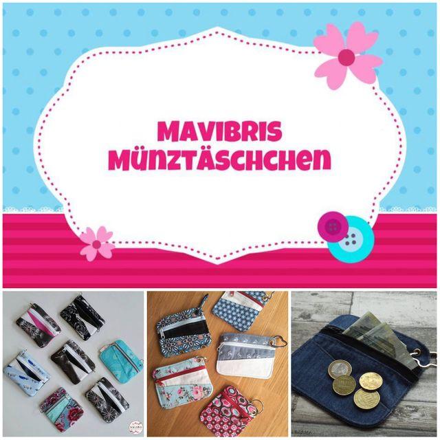 Produktfoto von Mavibri zum Nähen für Schnittmuster Mavibris Münztäschchen