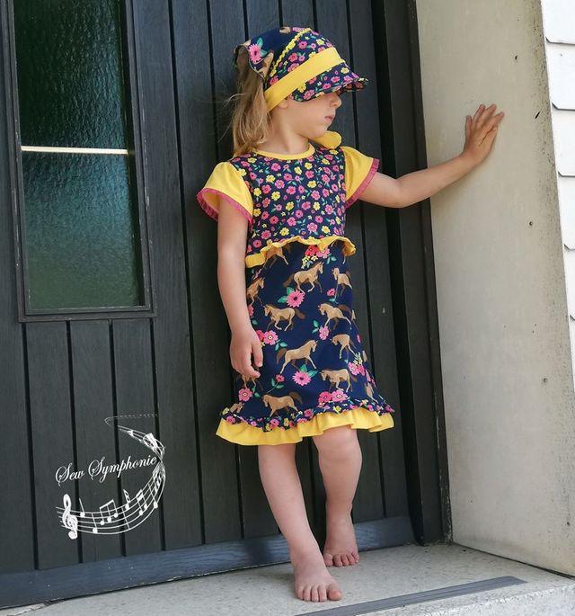 Produktfoto von MainZwillingsnadel zum Nähen für Schnittmuster Main FlounceDress -Volantkleid