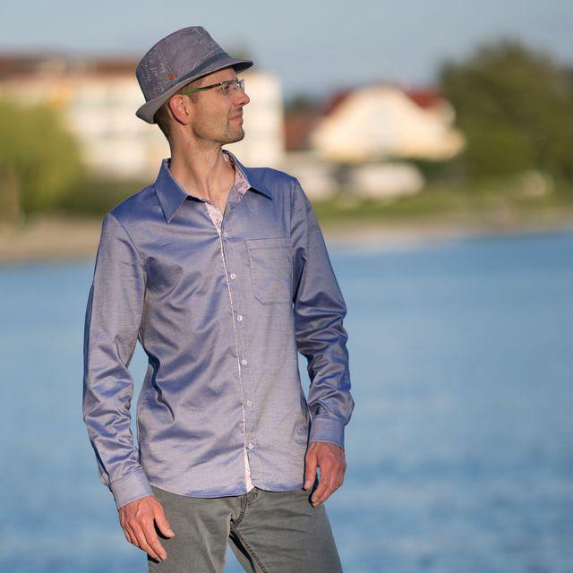 Produktfoto von SchnittmusterLounge zum Nähen für Schnittmuster Hemd Valerio