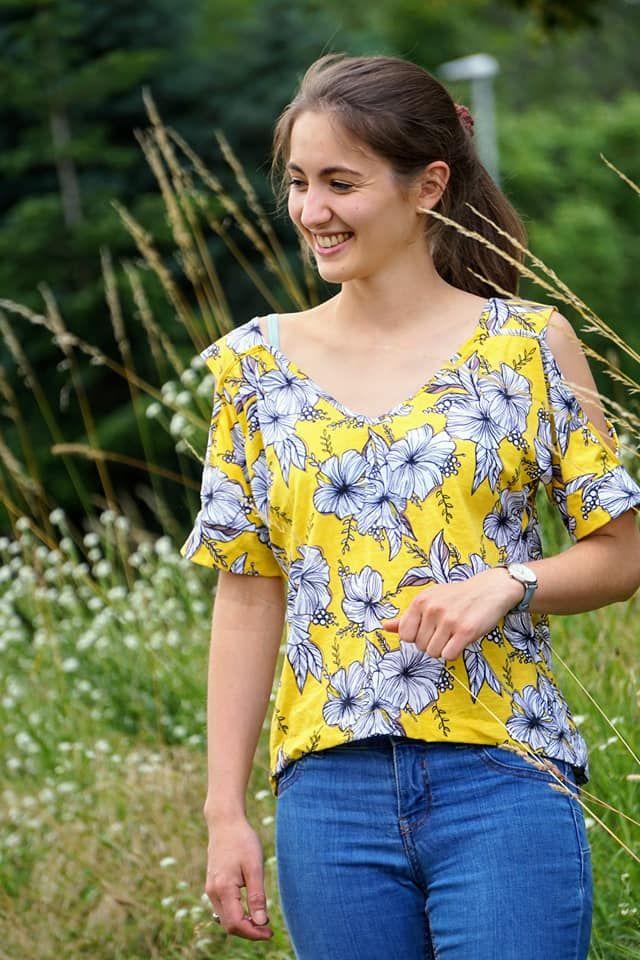 Produktfoto von Safilou zum Nähen für Schnittmuster Shirt Lynn