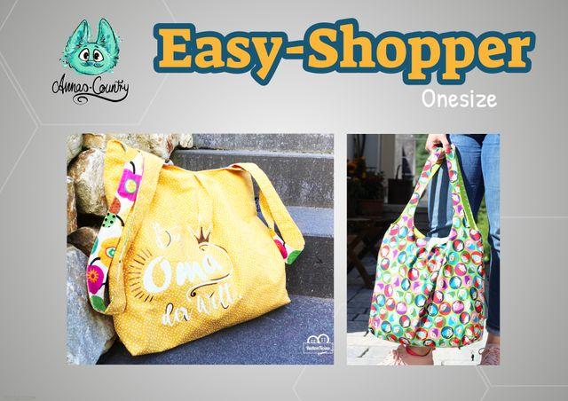 Produktfoto von Annas-Country zum Nähen für Schnittmuster Easy Shopper