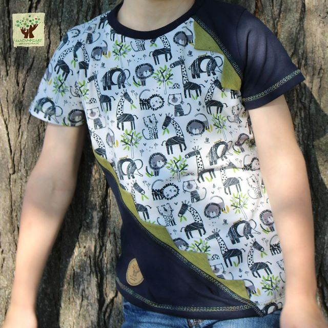 Produktfoto von MainZwillingsnadel zum Nähen für Schnittmuster Main JaggedShirt