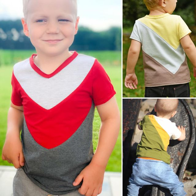 Produktfoto von Libminna zum Nähen für Schnittmuster Lib-Blockshirt